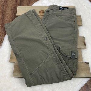 Kuhl Green Splash Roll-Up Outdoor Pants